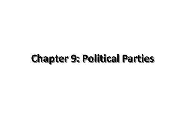 9 political parties 2 classes