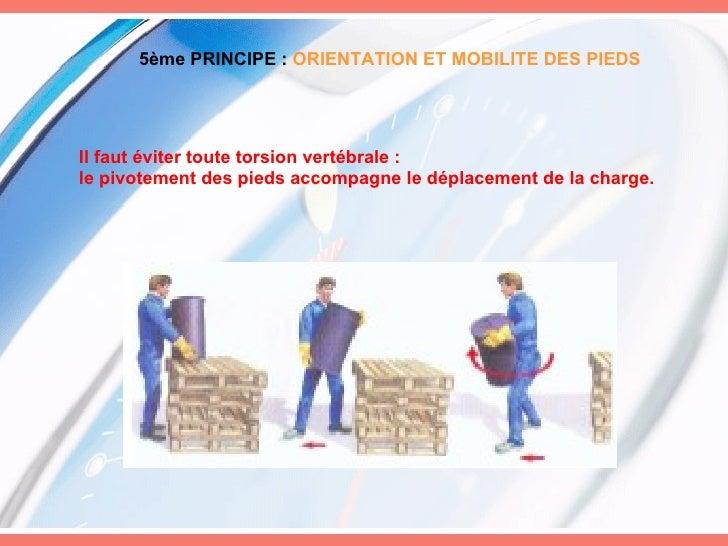 9 principes de la manutention manuelle for Salon de la manutention