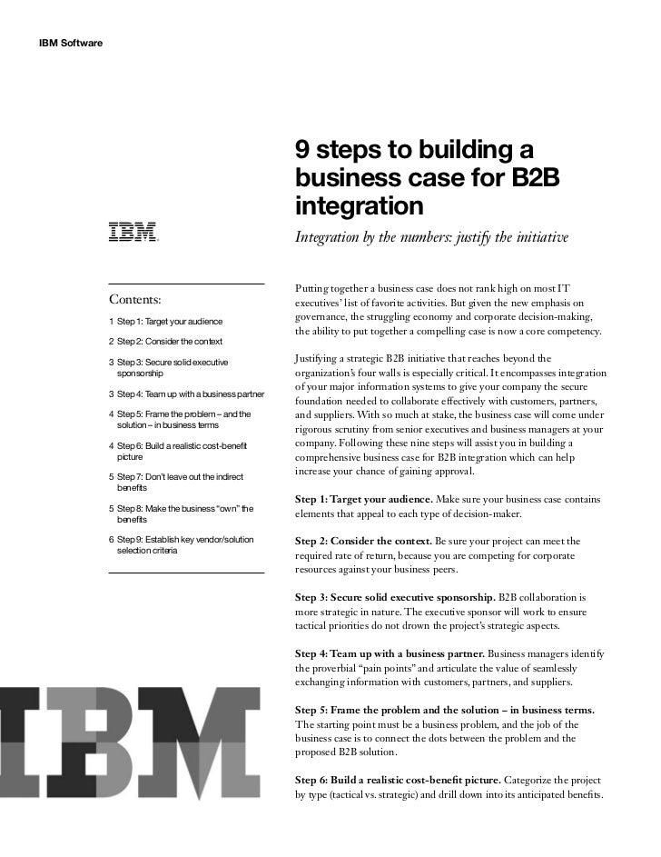 IBM Software                                                            9 steps to building a                             ...