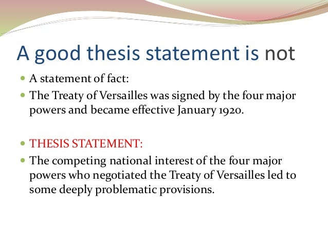 what should an effective thesis statement do A thesis statement defines the scope and purpose of the paper it needs  what  does she do with these social conventions, and how does she respond to them.