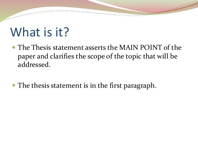 a good thesis statement for italy Download thesis statement on italian cuisine in our database or order an original thesis paper that will be written by one of our staff writers and delivered.