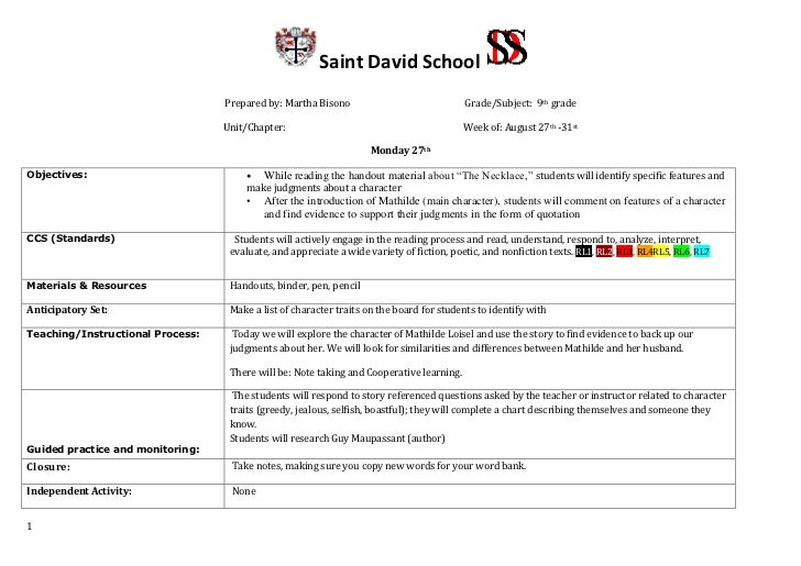 Essay writing websites lesson plan 8th grade 9