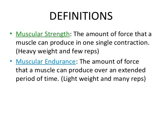 How To Measure Muscle Endurance Muscular Strength And ...