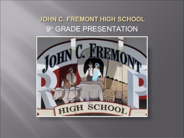 9th Grade Presentation