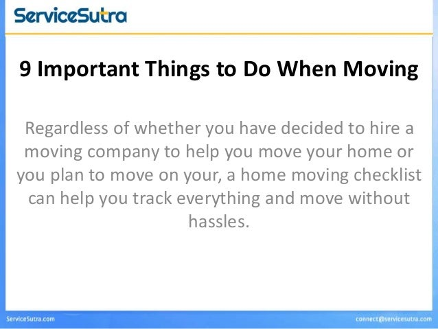 9 things to do before you move home moving checklist. Black Bedroom Furniture Sets. Home Design Ideas