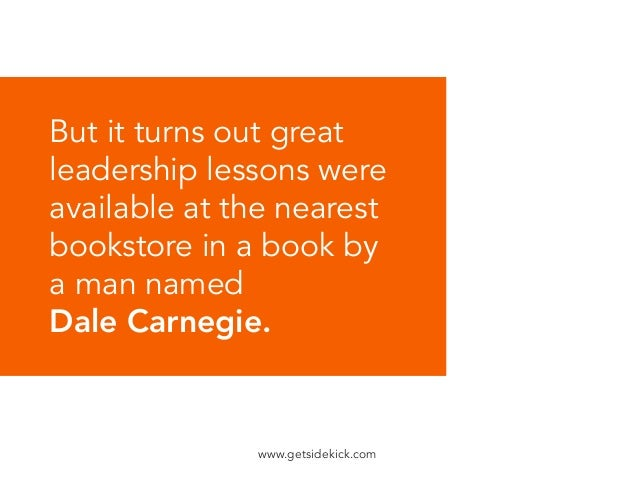 the leader in you dale carnegie pdf