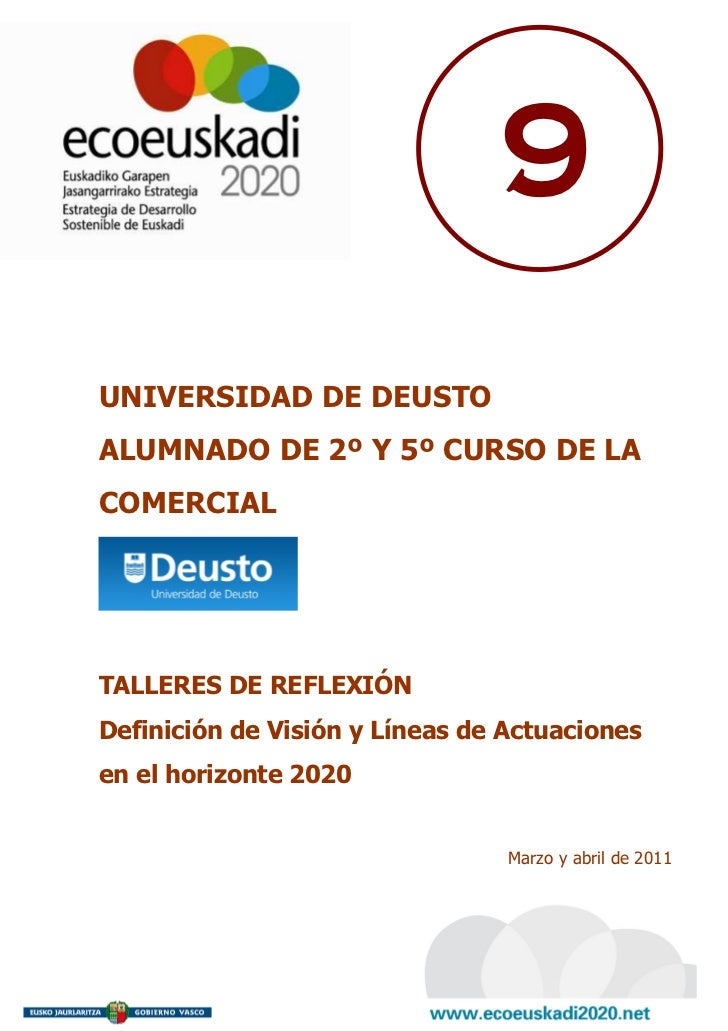 9 Universidad de Deusto