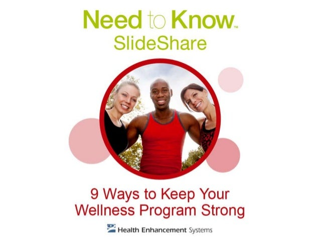 9 Ways to Keep Your Wellness Program Strong