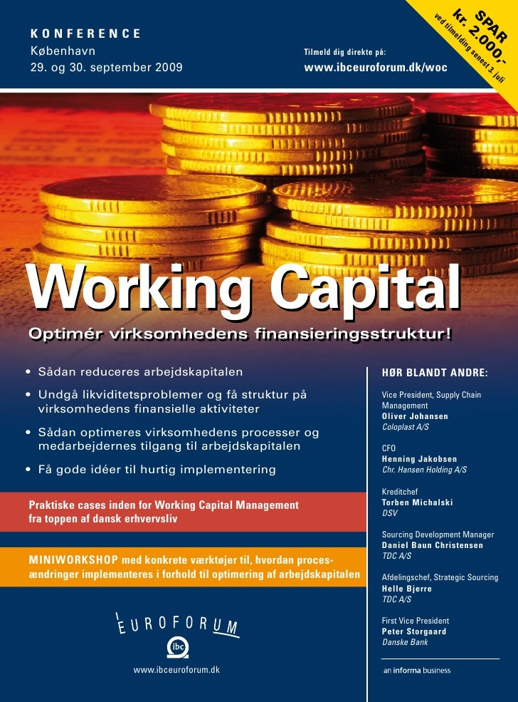 Working capital - conference