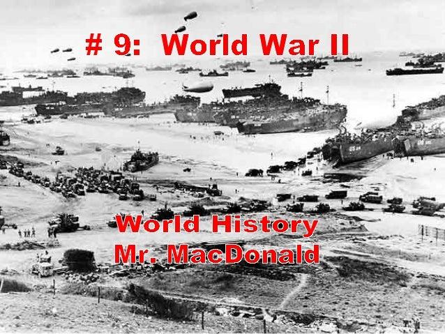 # 9 World War II