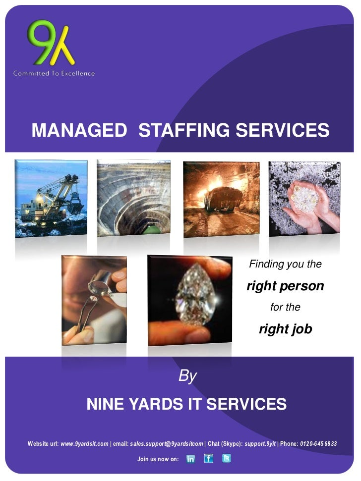 MANAGED STAFFING SERVICES                                                                                  Finding you the...