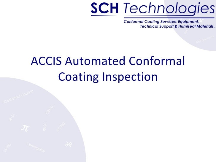 ACCIS Automated Conformal Coating Inspection