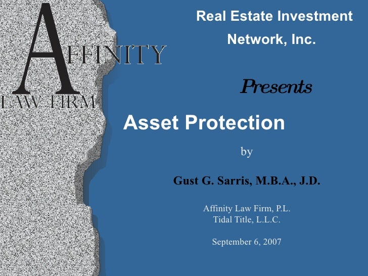 Affinity Asset Protection