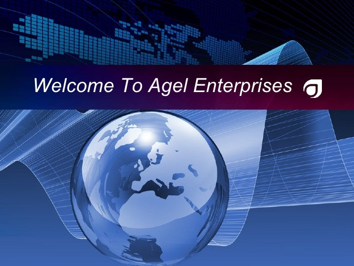 Welcome To Agel Enterprises