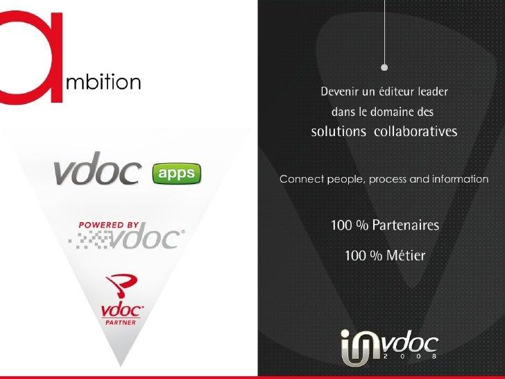 40 M€ 10 M€  10 M€ Devenir un éditeur leader dans le domaine des  solutions  collaboratives  100 % Partenaires  100% Métier