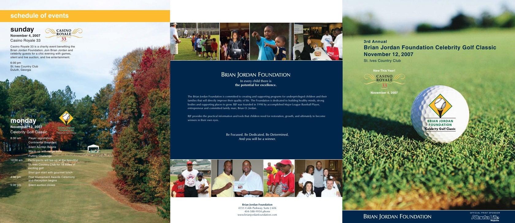 Bjf Golf Classic07 Brch+Reg Form