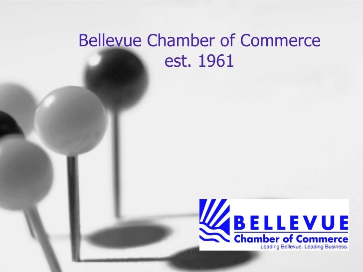 Bellevue Chamber Of Commerce Overview 2009