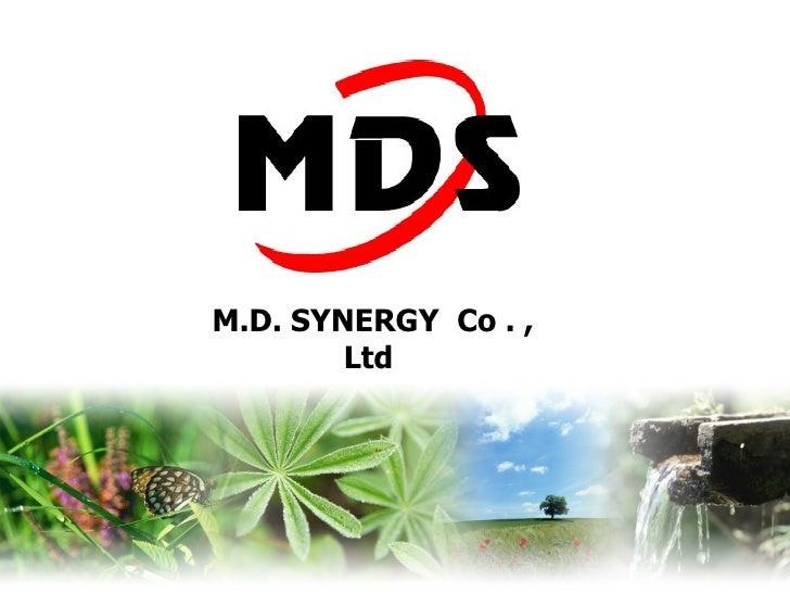 M.D. SYNERGY  Co . , Ltd
