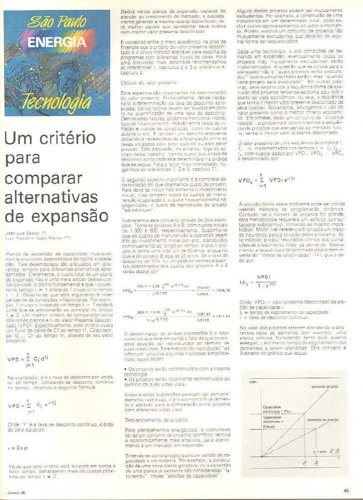Brazil Becker&Maurer Alternativas Expansao