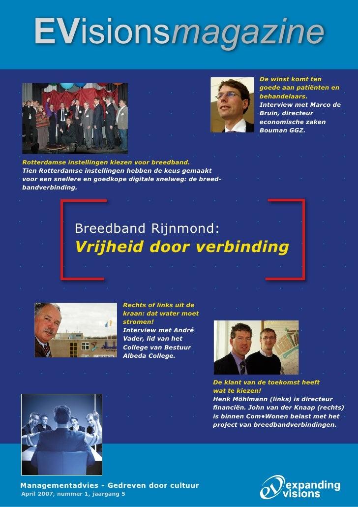 Breedband Rijnmond: Vrijheid Door Verbinding