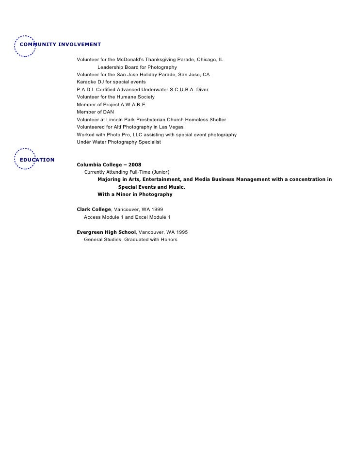 Fine Sfbay Resume Writer San Francisco Ca Pictures Inspiration ...