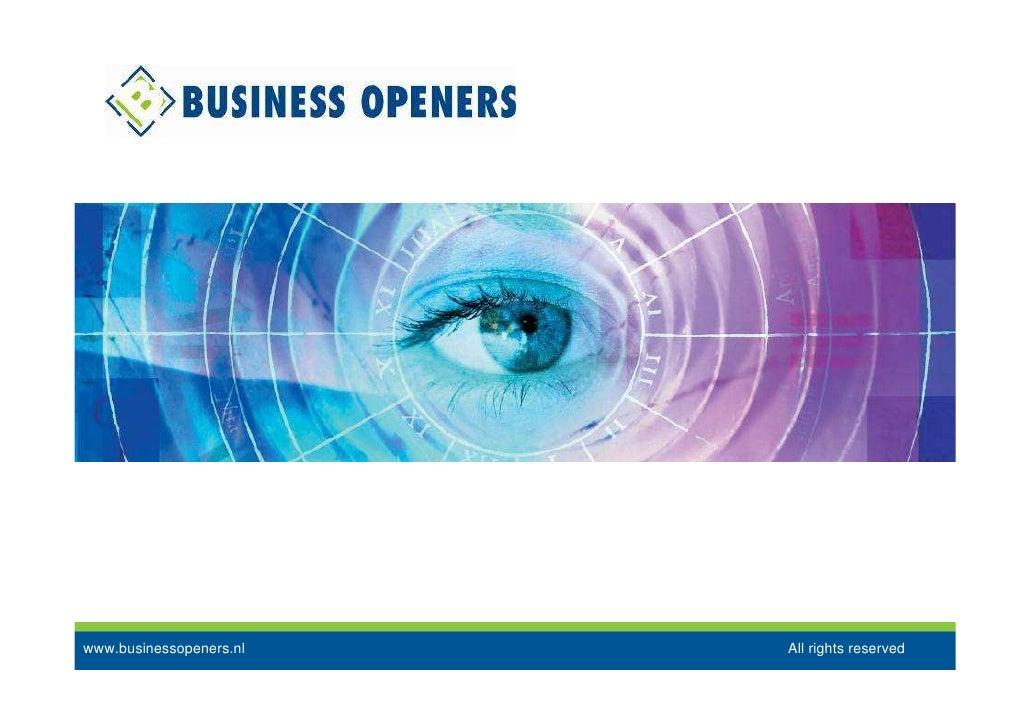 Business Openers Positioning & Internal Branding