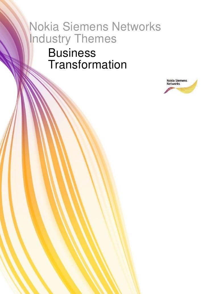 Business Transformation 1
