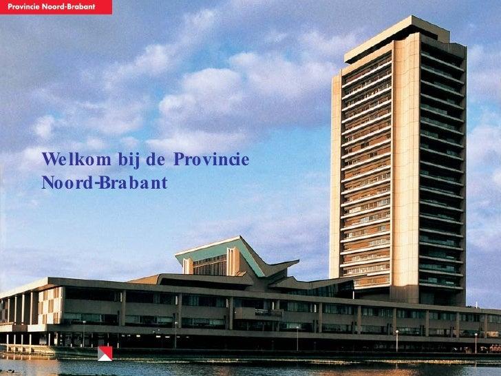 presentatie provincie brabant