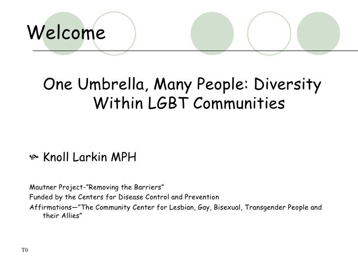 One Umbrella, Many People (UM Med School 2009)