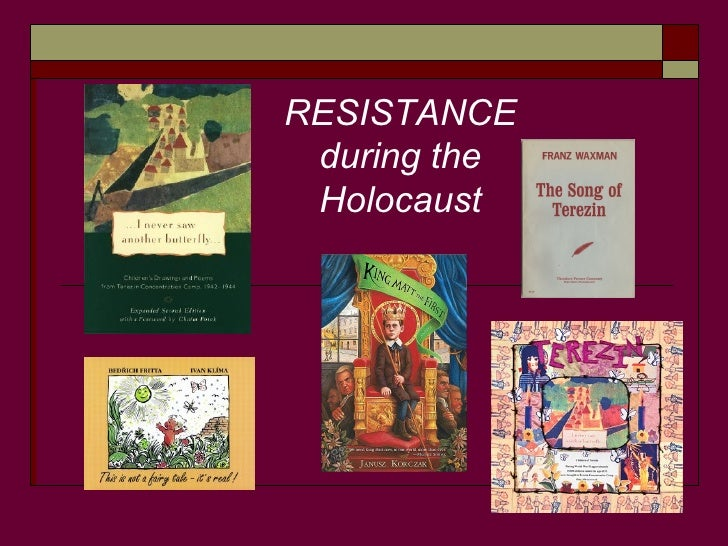 RESISTANCE during the Holocaust