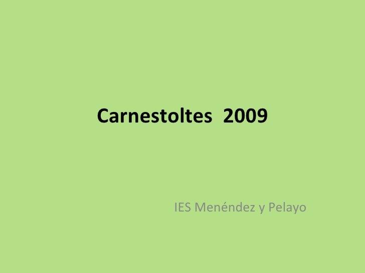 carnestoltes 2009