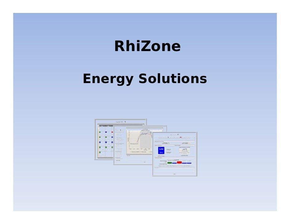 RhiZone  Energy Solutions