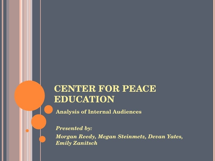 Center for Peace Education