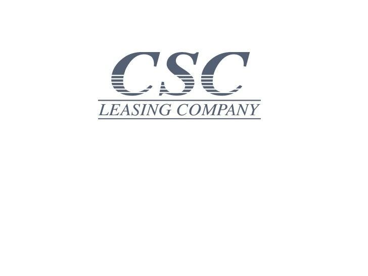 CSC Leasing
