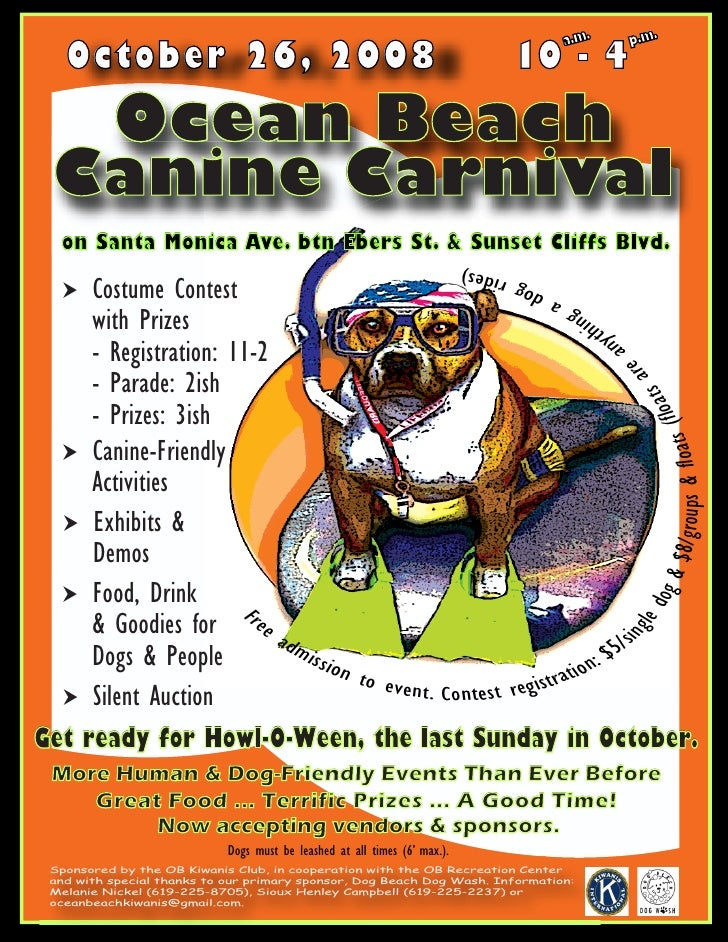 Canine Carnival Flyer Event