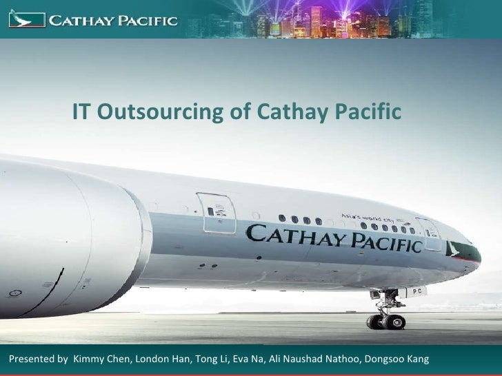 Business Report on Cathay Pacific Airways