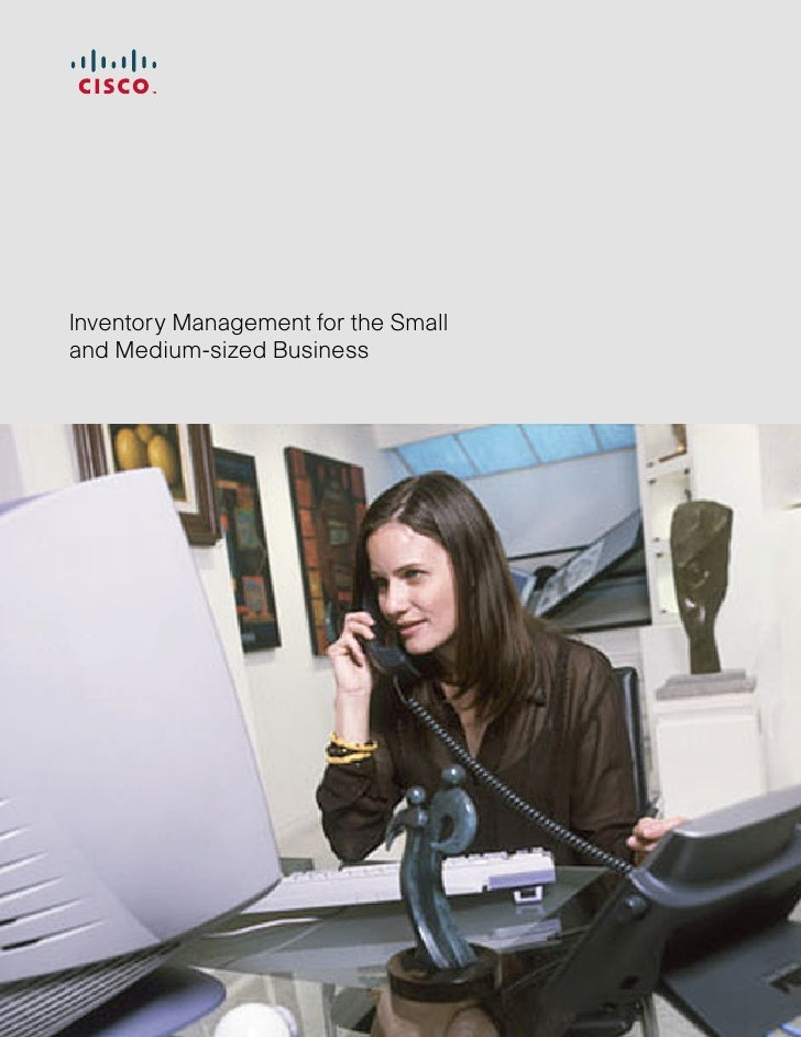 Inventory Management for the Small and Medium-sized Business