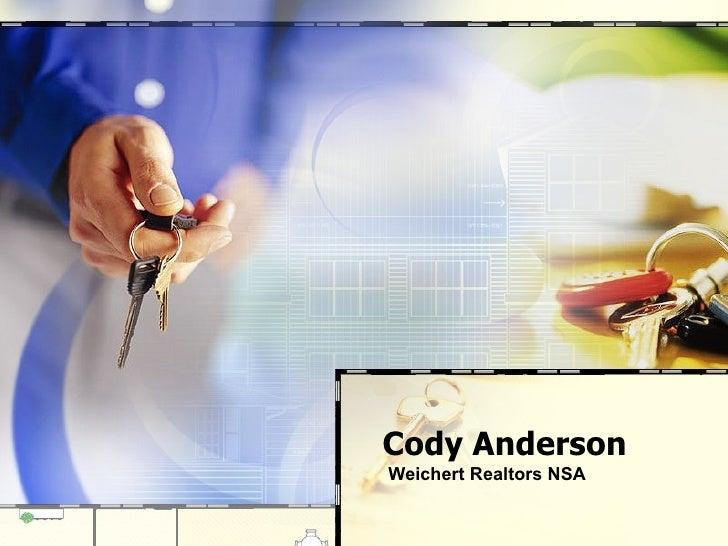 Cody Anderson Weichert Realtors NSA