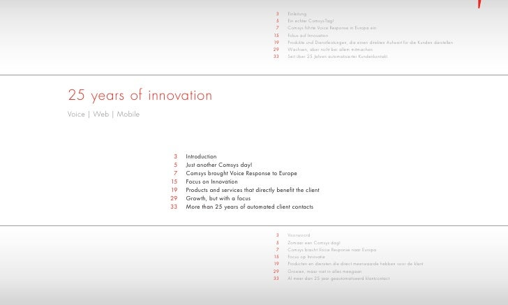 Comsys Corporate Brochure 1