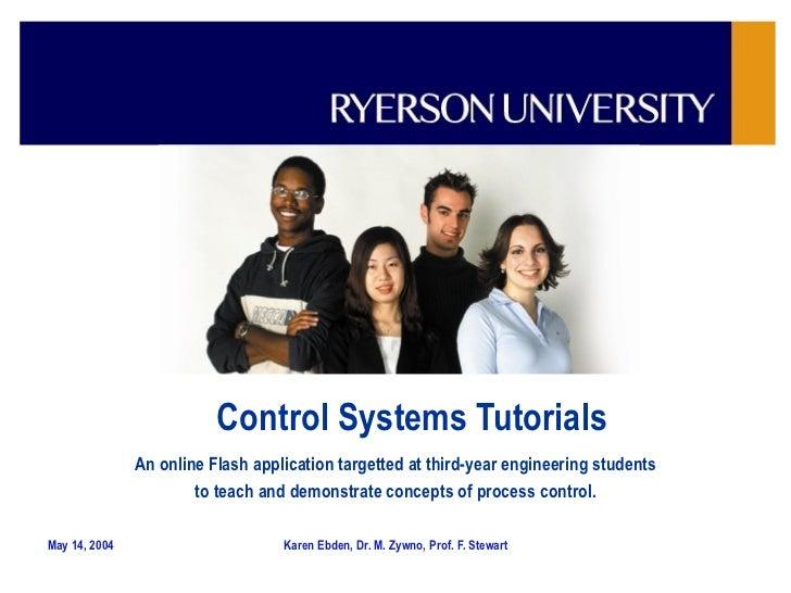 Control Systems Tutorials