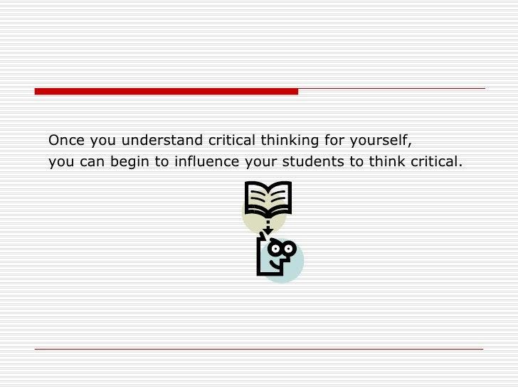 Critical Thinking SlidePlayer
