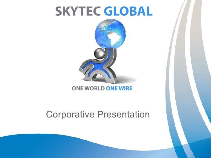 Corporative Presentation