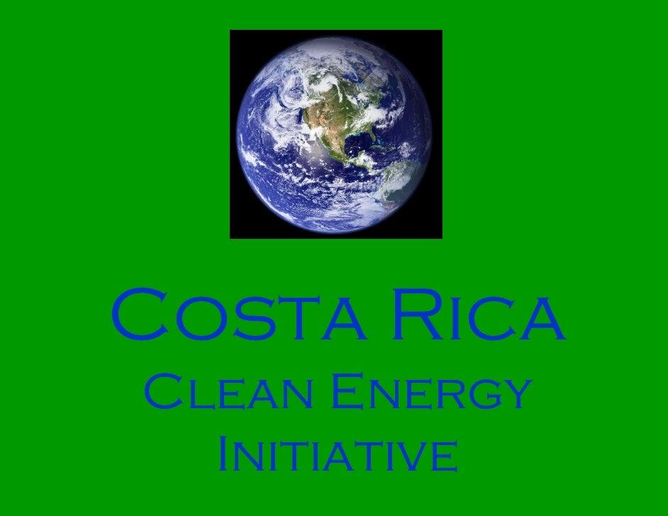 Costa Rica Clean Energy   Initiative