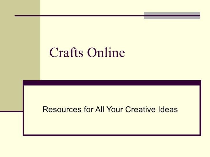 Crafts Online