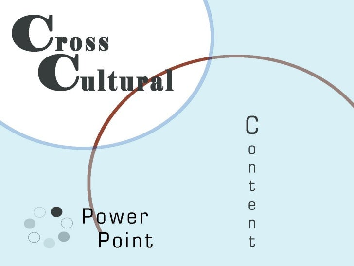 Cross Cultural Training PowerPoint Presentation