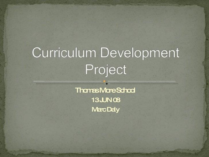 Curriculum Development Project