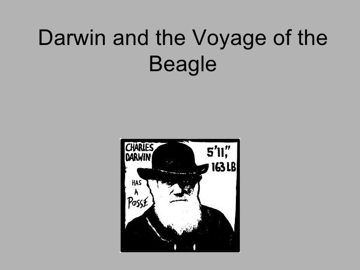 Darwin and the Voyage of the Beagle