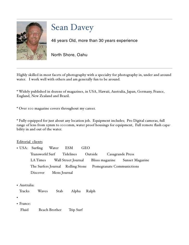 Davey Resume 11.08