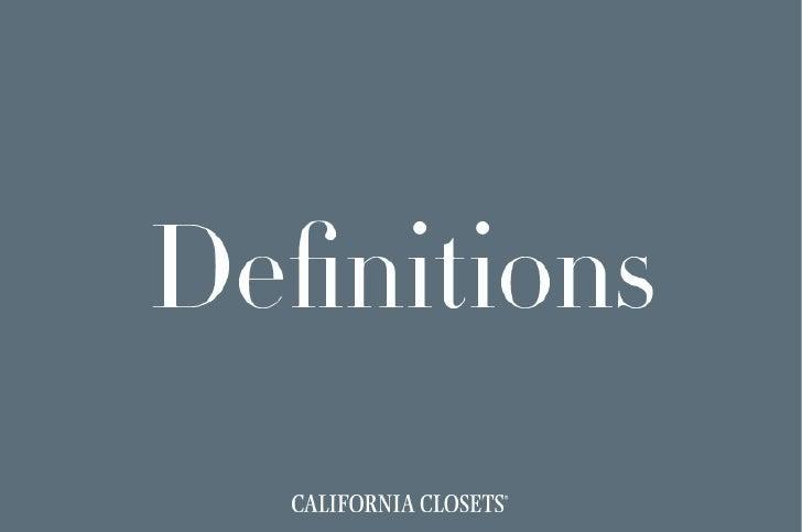Definitions Digital Catalog