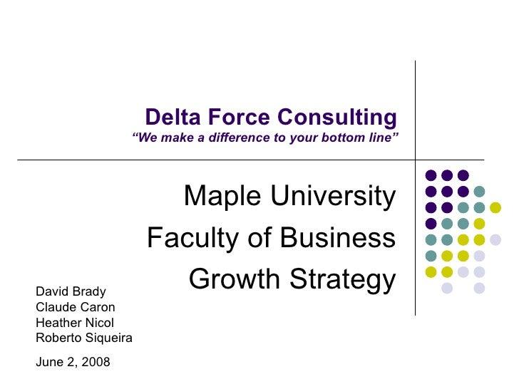 Delta Force Consulting Board Presentation 06 021